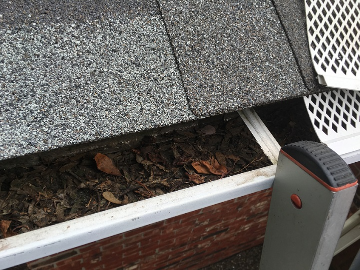 Picture of our Gutter Cleaning Service