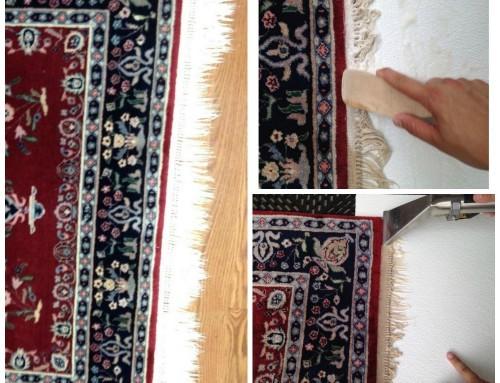 Oriental Rug fringe Cleaning
